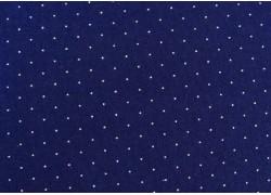 Pünktchenstoff marineblau American Jane Moda Patchworkstoff