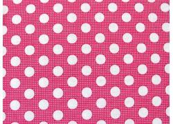 Tilda Stoffe pink Medium Dots Punktestoff