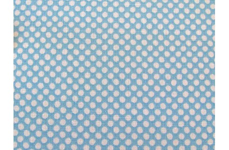 Tilda Stoffe Classic Basics Paint Dots blau Quiltstoff