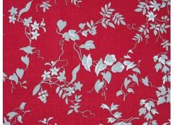 Patchworktstoff Riley Blake Blumenranken rot Red Elegance