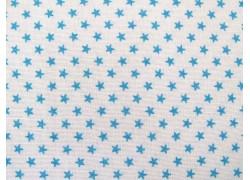 Tilda Stoffe Classic Basics Tiny Star blau Quiltstoff