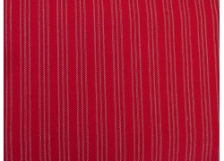 Westfalenstoff Streifenstoff rot Lugano Webstoff