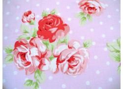 Patchworkstoff Rosenstoff rosa Lulu Roses