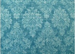 Patchworkstoff Ornamentstoff türkis Kashmir Windham