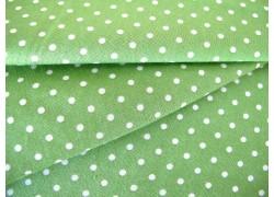 Quiltstoff Moda Stoff Punkte grün Good Tidings