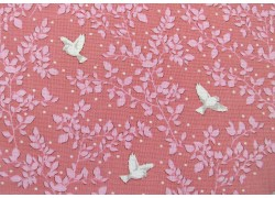 Tilda Stoffe rosa Mapel Farm Designerstoff