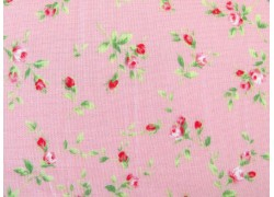 Quiltstoff Rosenstoff rosa Floral Collection