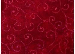 Patchworkstoff Kringel rubinrot Marble Swirls Moda