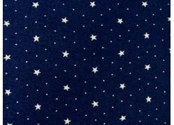 Designerstoff Sternchen Harbor Springs dunkelblau