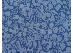 Patchworkstoff Beeren blau Wiltshire Quiltstoff