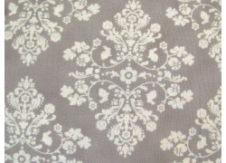 Kinderstoffe Baumwolle Stoff Hasen grau weiß Lily & Will Revisited