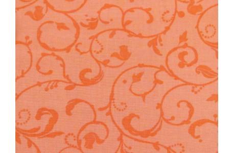 Patchworkstoff orange Eichhörnchen Squirrelly Girl