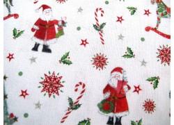 Weihnachtsstoff Baumwolle Nikolaustag acufactum