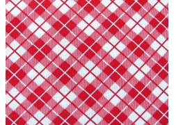 Patchworkstoff rot kariert Orchard Quiltstoff