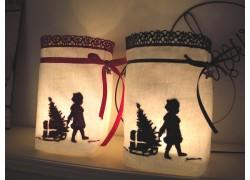 Lichtbeutel für Weihnachten