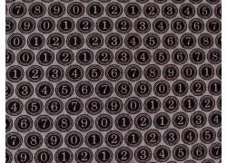 Patchworkstoff Zahlen schwarz Compositions Quiltstoff