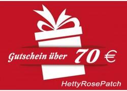 Gutschein 70 EUR