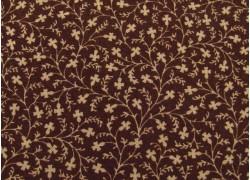 Quiltstoffstoff Blumenstoff Susanna´s Scraps braun