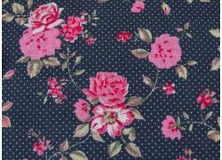 Westfalenstoff Rosenstoff anthrazit pink Rosenborg