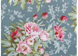 Tilda Stoffe Blumen Woodland Hazel Sage Patchworkstoff