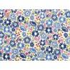 Tilda Stoffe Blumen Woodland Clara Blue Patchworkstoff