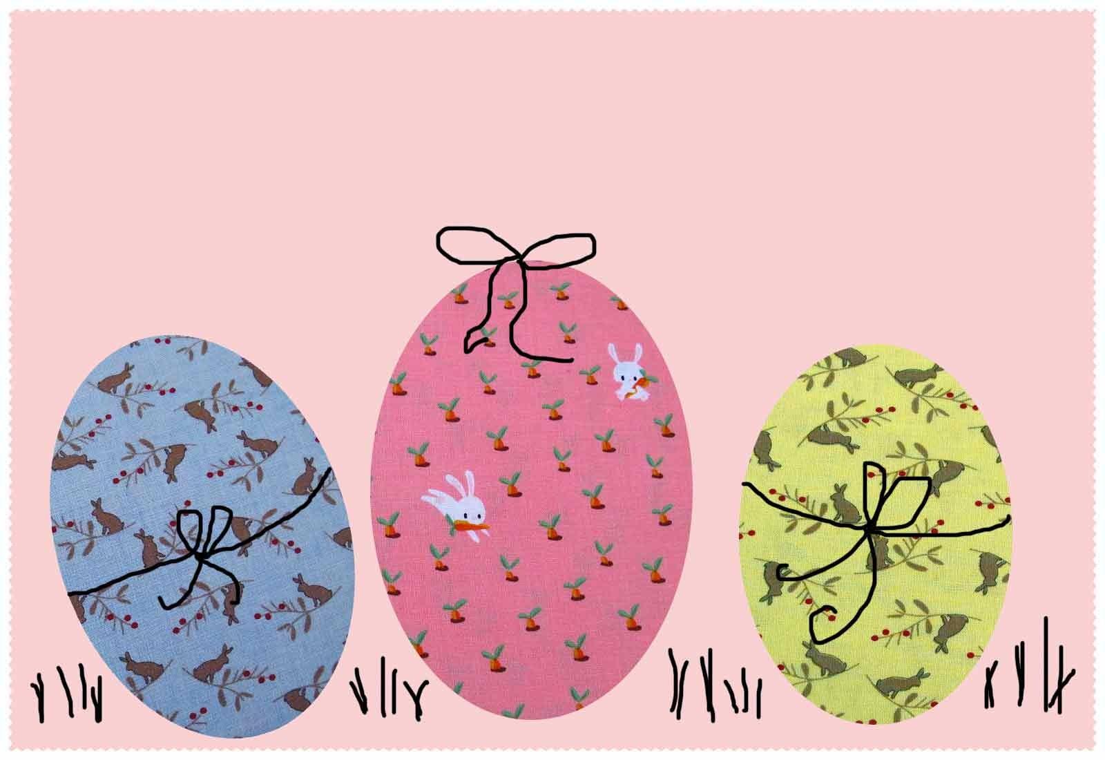 Designerstoffe Ostern