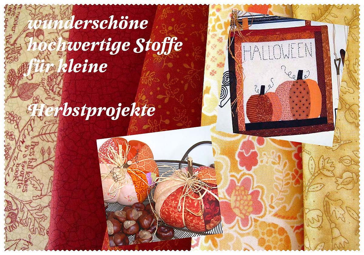 stoffe herbst